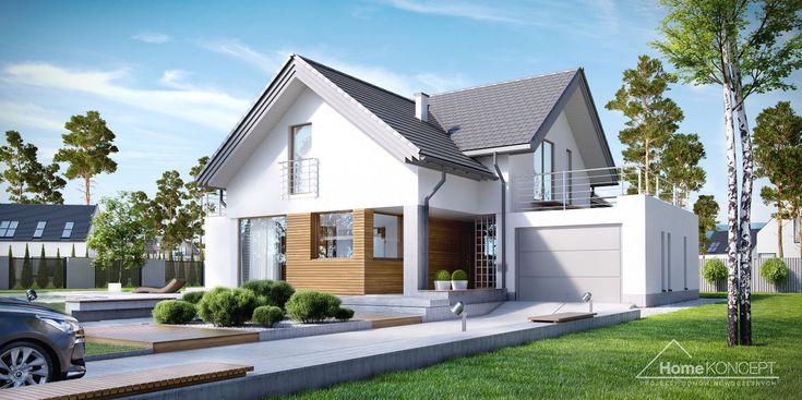Projekt domu HomeKONCEPT 8 www.homekoncept.pl #projektdomu