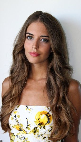 Loose waves {Clara Alonso} http://hostsp.blogspot.com/2013/05/what-would-happen-if-there-was-no-google.html