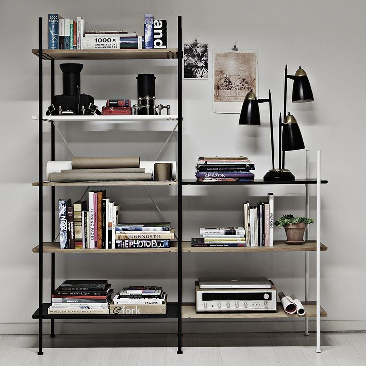 Danish design brand Novel Cabinet Makers. This is their shelving system named Stock