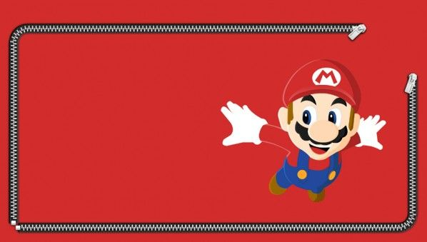 Mario Lockscreen PS Vita Wallpaper