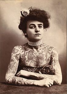 Maud Stevens Wagner (February 1877 – January 30, 1961) was a circus performer and the first known female tattoo artist in the United States.