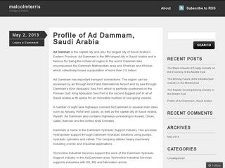 Profile of Ad Dammam, Saudi Arabia