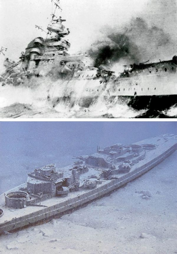 27 May 41: The great German battleship BISMARCK, crippled yesterday by RAF Fairey Swordfish bi-planes, is bombarded repeatedly by the Royal Navy until the crew scuttles her. The sinking of the HMS HOOD three days earlier is avenged. More: http://scanningwwii.com/a?d=0527&s=410527 #WWII