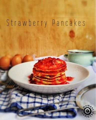 DiNeAt: Strawberry Pancakes