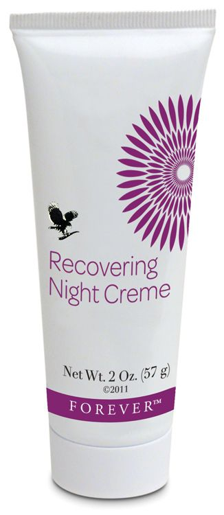 Forever Recovering Night Creme - designed for night use to hydrate and soothe, replenishing the skin while you sleep. Contains vitamins C and E, plus Pro vitamin B5. Helps reduce fine lines and wrinkles keeping the skin soft and full of moisture and elasticity. https://www.facebook.com/foreverrocksforever