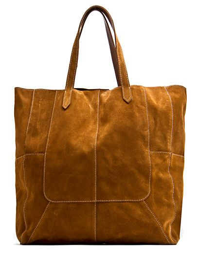 the color just talks for itself! <3Suede Shopper, Shopper Bags Lov, Mango Touch, Style, Touch Leather, Leather Shopper, Bags 170, Suede Bags, Leather Bags