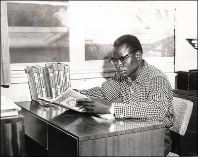 President Barack Obama's father working or studying | A ...