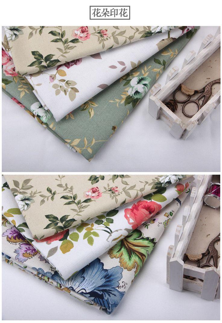 Цвет хлопка полосатые шторы парус Busha публиковать цветочные ткани скатерти подушки идиллические старые грубые ткани -tmall.com Lynx
