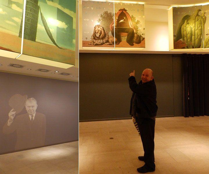 Το highlight του ταξιδιού μου στις Βρυξέλλες θεωρώ ότι ήταν η επίσκεψη στην Εθνική πινακοθήκη και στο Μουσείο Magritte, που στεγάζεται σ' αυτήν. Ήμουν τυχερός γιατί πέτυχα την τεράστια, την υπέροχη έκθεση στον Mark Chagall.