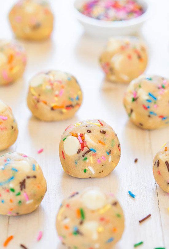 Funfetti Cookie Dough Balls
