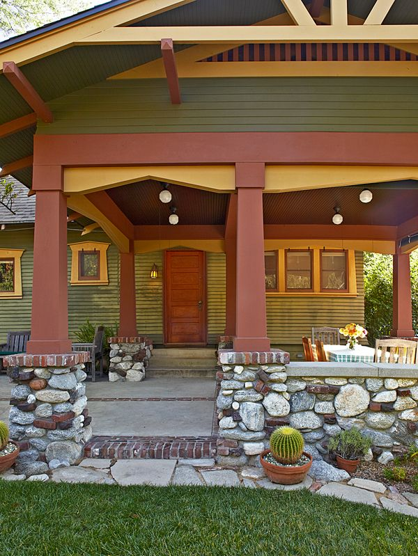 Earthy paint colors for bungalows joy studio design for Bungalow paint schemes