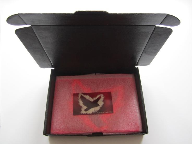 Re-used box