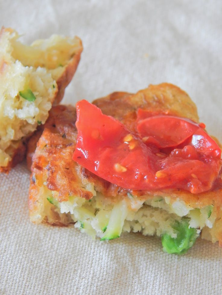 Pea and Courgette Fritters with Smokey Tomato Chutney