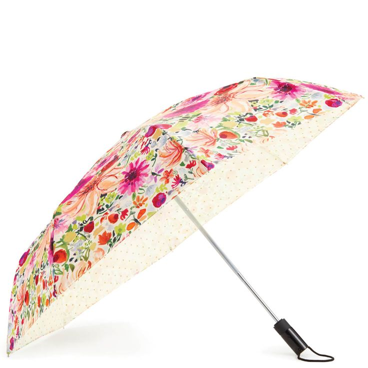 kate spade NEW YORK Off We Go Travel Umbrella in Dahlia at The Paper Store