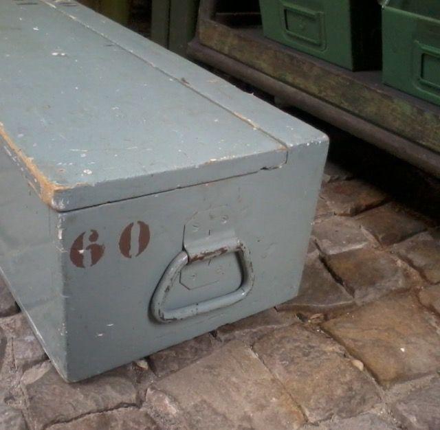 Vintage houten kist // Gezien op www.werkplaats35.nl