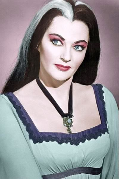 Lily Munster in color