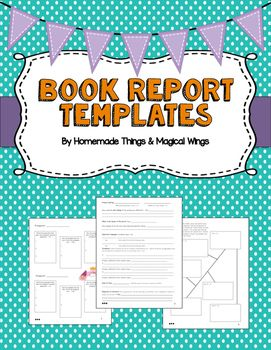Sample Cereal Box Book Report      Documents In PDF  WORD