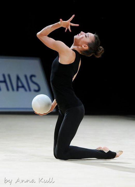 Viktoria MAZUR (Ukraine) ~ Training Ball @ GP Thiais 2016  Photographer  Anna Kull.