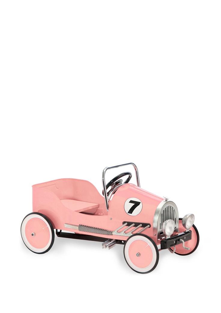 ideeli: Pink Pedal, Cycling Retro, Kids Stuff, Pedal Cars, Cycling Pink, Pink Retro, Retro Pedal, Morgan Cycling, Kids Rooms