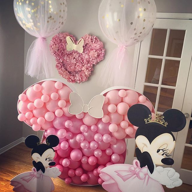 Minnie Mouse Birthday Minnie Mouse Party Minnie Mouse Backdrop