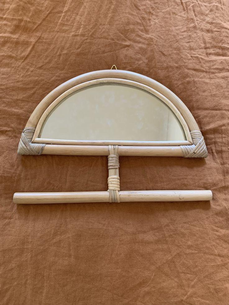Cairo rattan mirror 40cm x 30cm in 2020 Rattan mirror