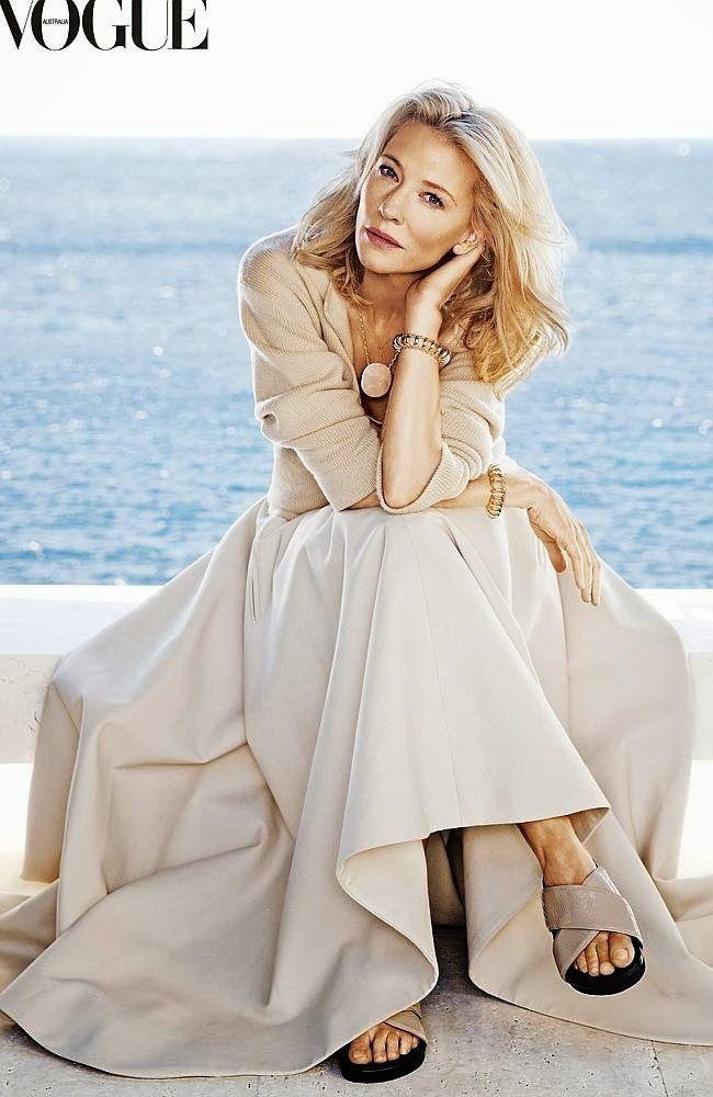 Cate Blanchett in Vogue Australia: February 2014.