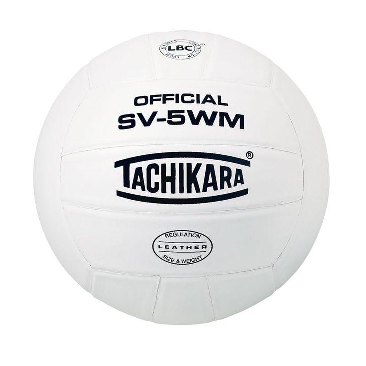 Tachikara SV-5WM Indoor Volleyball, White