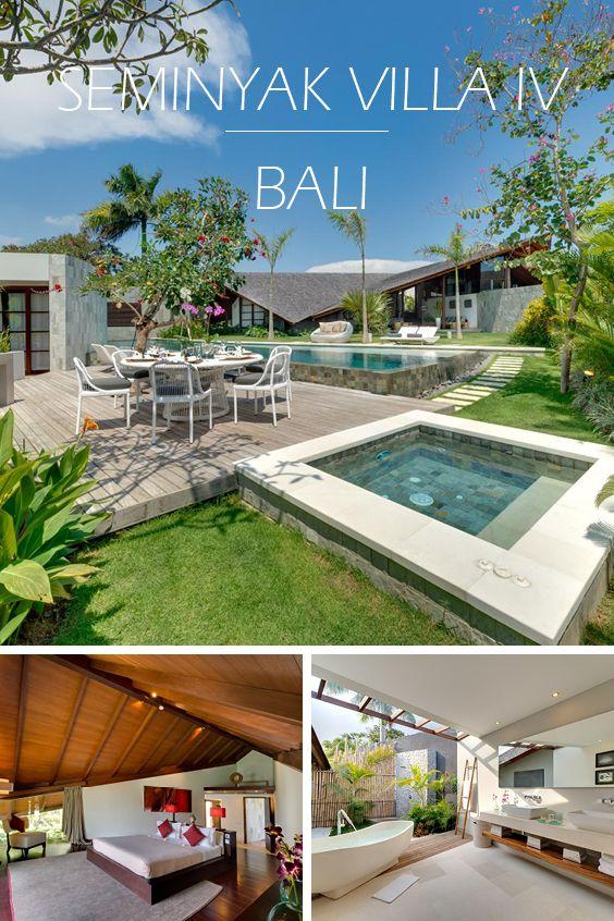 SEMINYAK VILLA IV | BALI - Luxus-Ferienvilla mit 4 Schlafzimmern, Teil eines privaten Villen-Anwesens