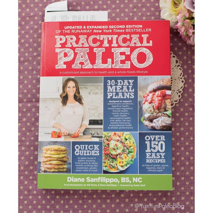 My first post!  I am reading Practical Paleo by Diane Sanfilippo.  This book i