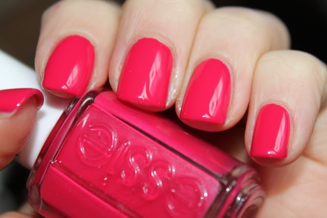 Essie - Watermelon. My favorite summer polish of all time.