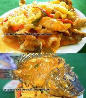 Resep Gurame Saus Nanas Asam Manis | Resep Masakan Indonesia (Indonesian Food Recipes)