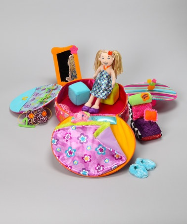 Take a look at this Groovy Girls Posh & Portable Doll Apartment Set by Manhattan Toy on #zulily today!