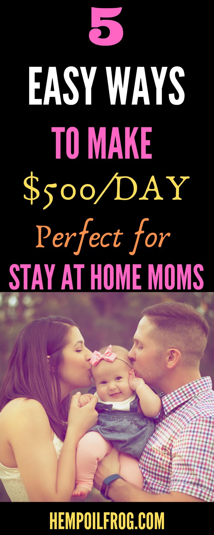 5 Easy Ways To Make Money for At Home Staying Moms