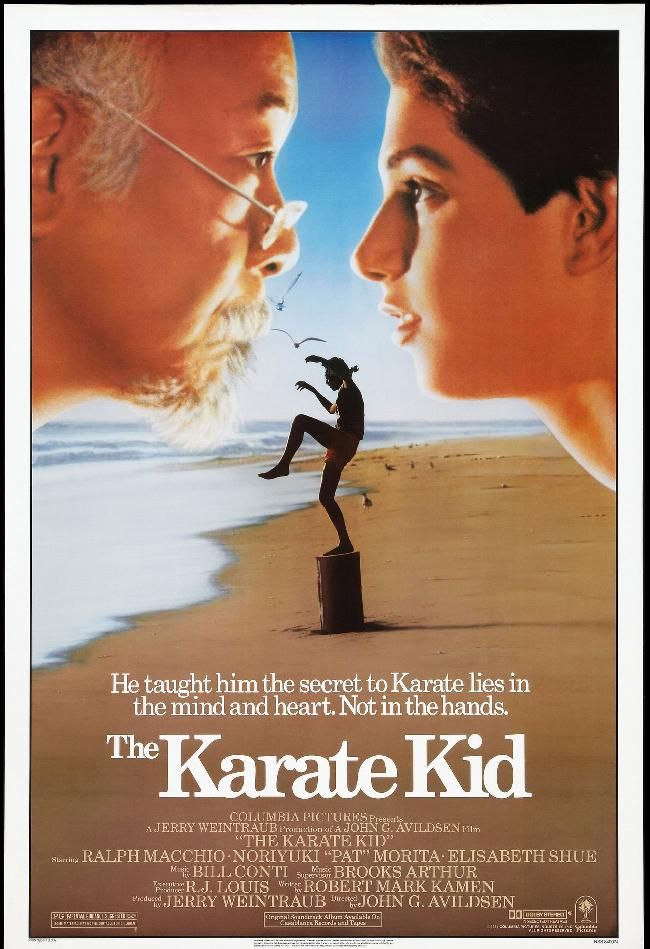 The Karate Kid (1984).  One of my favorites as a teenager.