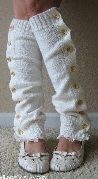 podkolanówki bez stopy