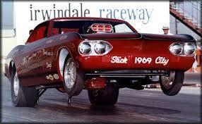 Corvair Funny Car at Irwindal
