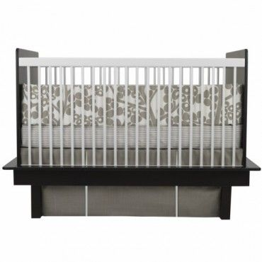 Oilo 3 Piece Crib Bedding Set  (Modern Berries Motif - Taupe) - www.rightstart.com: Oilo Modern, Taupe Berries, Modern Cribs, Berries Motif, Crib Bedding Sets, Modern Berries, Cribs Sets, Baby Beds, Cribs Beds Sets