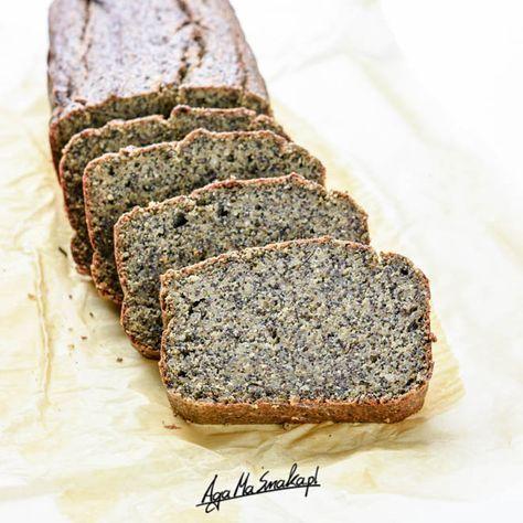 prosty i zdrowy makowiec ekspresowy zdrowe ciasto wegański bezglutenowy
