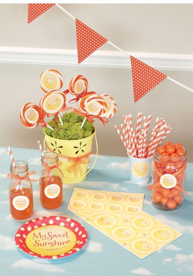 170 best Sunshine birthday party images on Pinterest Sunshine