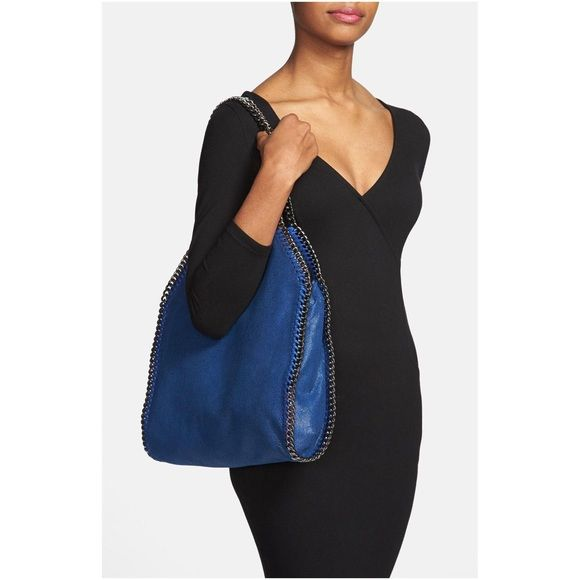 Shaggy Deer Falabella Stella Maccartney tote Royal Blue, Brand new with tags & dust bag. Such a cute bag, goes with everything, 100% vegan leather. willing to negotiate price & trade, cheaper if sold off posh. Stella McCartney Bags