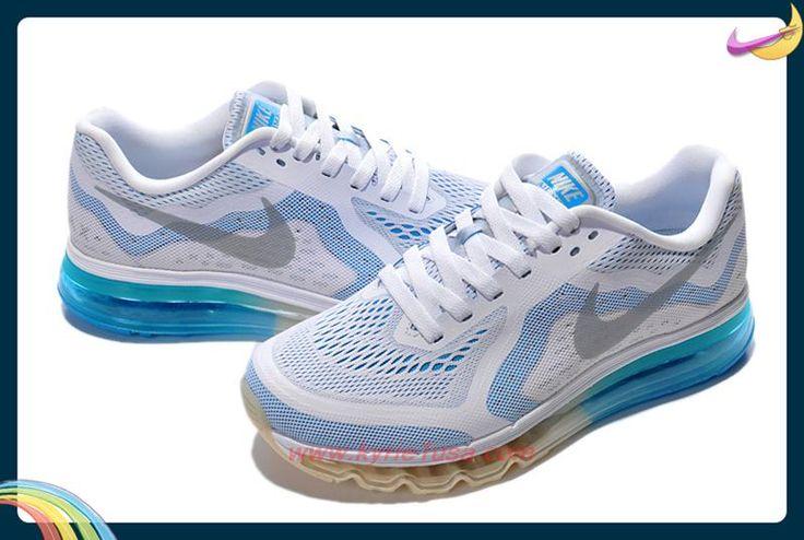 621077-104 White/Photo Blue/Hyper Cobalt/Black Nike Air Max 2014