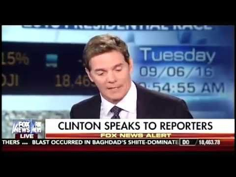 BREAKING : Hillary Clinton Cuts Off CNN Reporter LIVE Whn Asked About He...