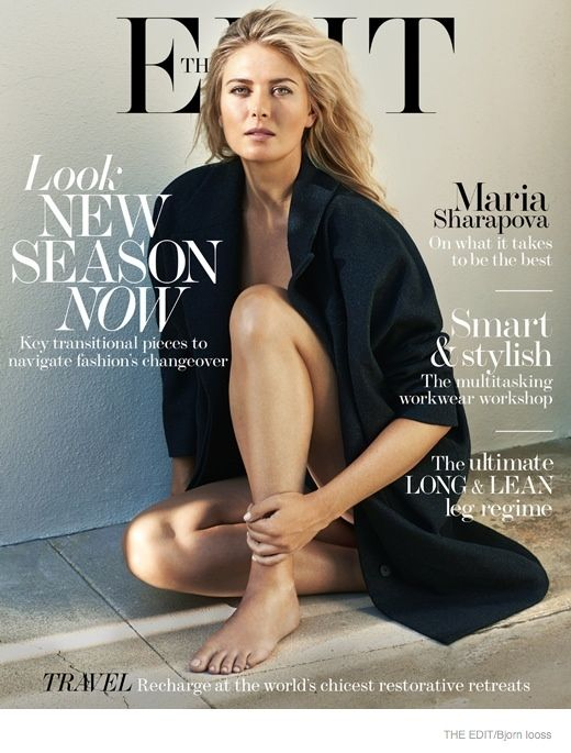The Edit 21 August 2014 | Maria Sharapova by Bjorn Iooss #Covers2014