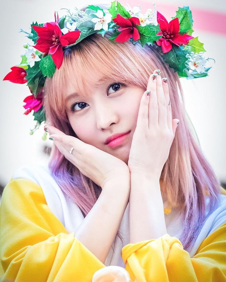 Omg, I LOVE Momo!!! She's so cute and beautiful and a wonderful dancer!!! I finally watched Sixteen and it was great and I actually finally got to learn Twice's names! But I love Momo! She's been the bias since the beginning! I got so attached to her somehow that I cried so hard when she got eliminated in episode 6 even though I KNEW she was going to come back XD Twice fighting!!! :3