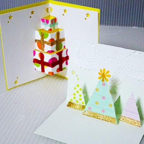 クリスマスやイベント等で大活躍! 手作りのポップアップカードで想いを伝えてみませんか♡