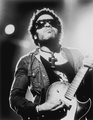 Lenny Kravitz, he can sing and rock out to me any day