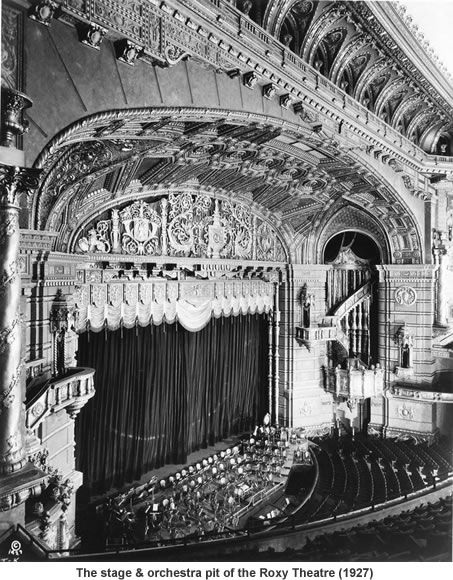 "The Roxy Theatre was called ""The Cathedral of the Motion Picture"" 1927-1961 New York City.  This is beautiful!!!!!!!"