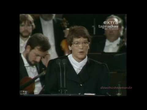 Tagesschau 3.10.1990- Deutsche Einheit