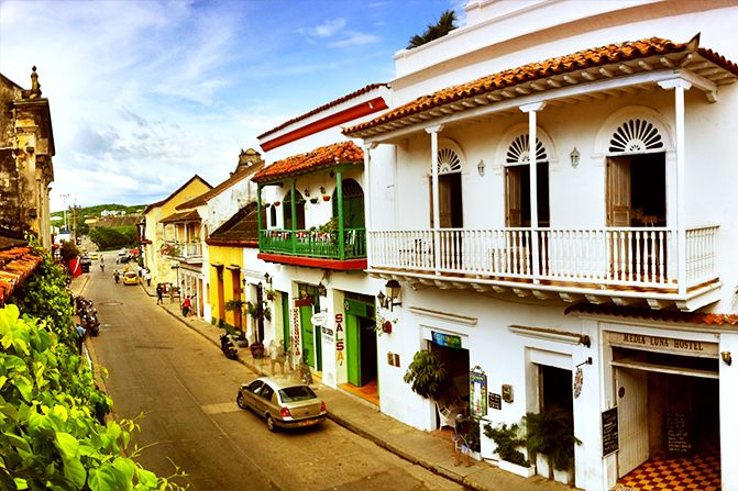 Hostel in Cartagena, Colombia - Media Luna