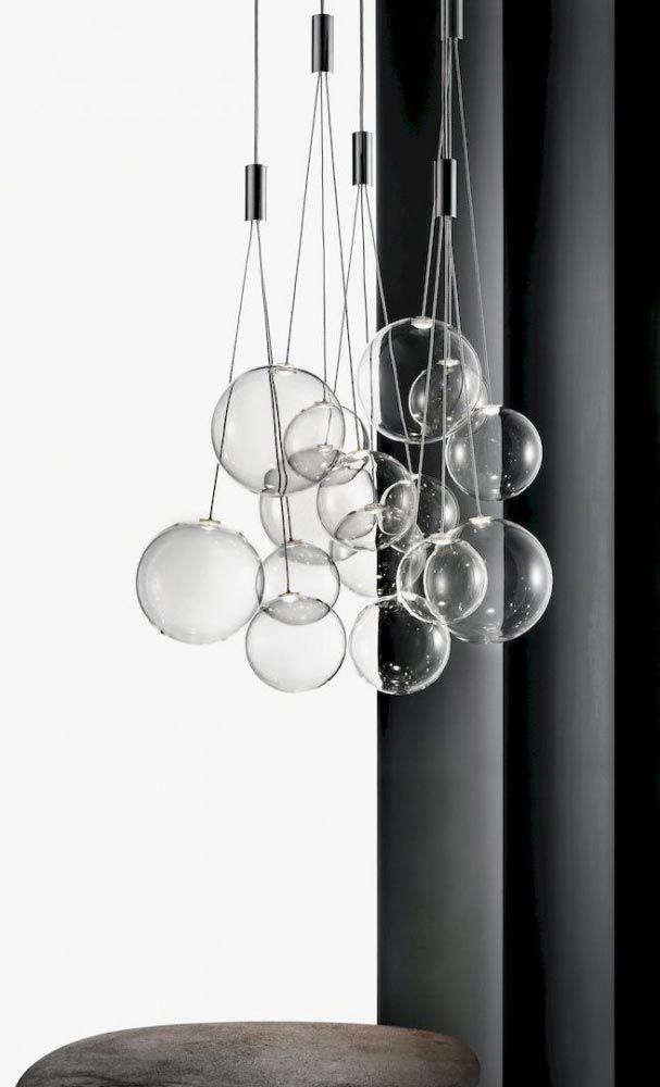 Design Studio En Boule Italia Verre Luminaire Suspension Led Random hxBCQdsrt
